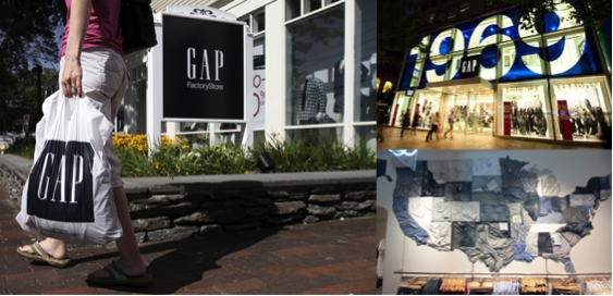 The GAP Closure - Various GAP stores